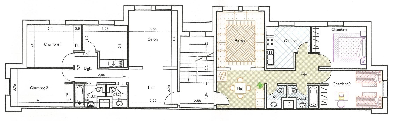 plan appartement nador
